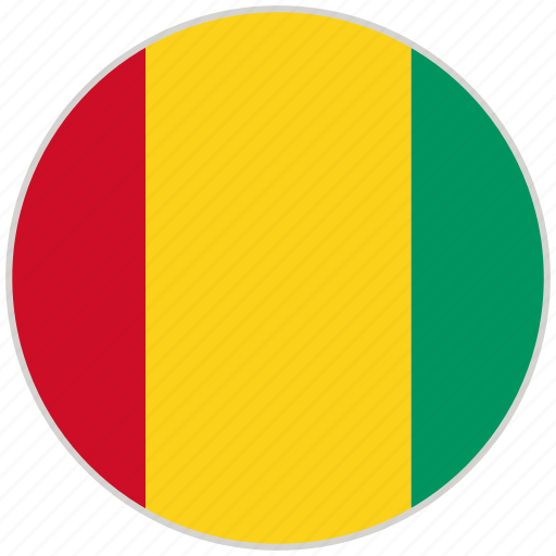 Circular, country, flag, guinea bissau, national, national flag, rounded icon - Download on Iconfinder