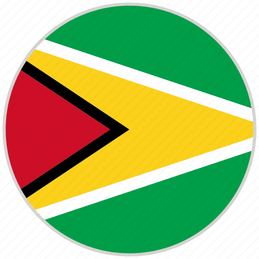 Circular, country, flag, guyana, national, national flag, rounded icon - Download on Iconfinder