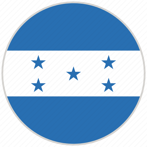Circular, country, flag, honduras, national, national flag, rounded icon - Download on Iconfinder