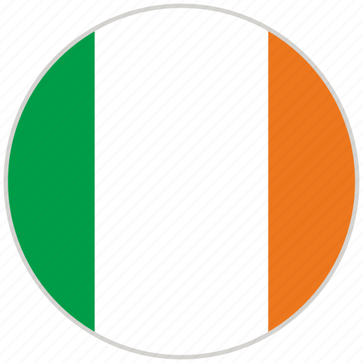 Circular, country, flag, ireland, national, national flag, rounded icon - Download on Iconfinder