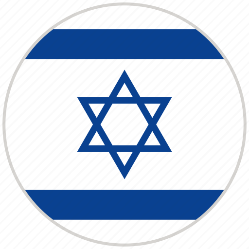 Circular, country, flag, israel, national, national flag, rounded icon - Download on Iconfinder