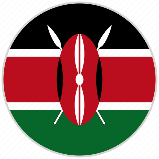 Circular, country, flag, kenya, national, national flag, rounded icon - Download on Iconfinder
