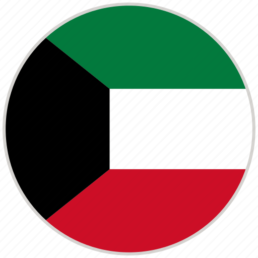 Circular, country, flag, kuwait, national, national flag, rounded icon - Download on Iconfinder