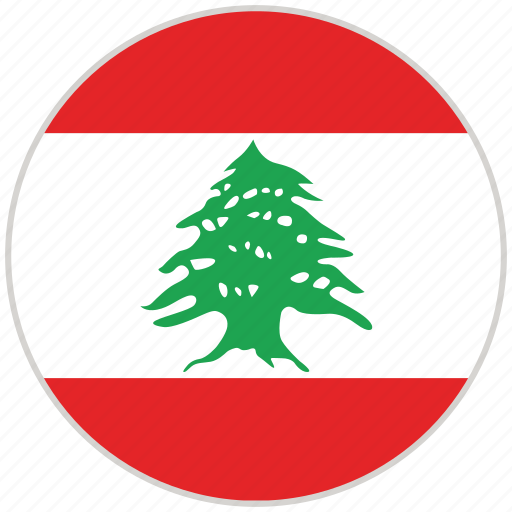 Circular, country, flag, lebanon, national, national flag, rounded icon - Download on Iconfinder