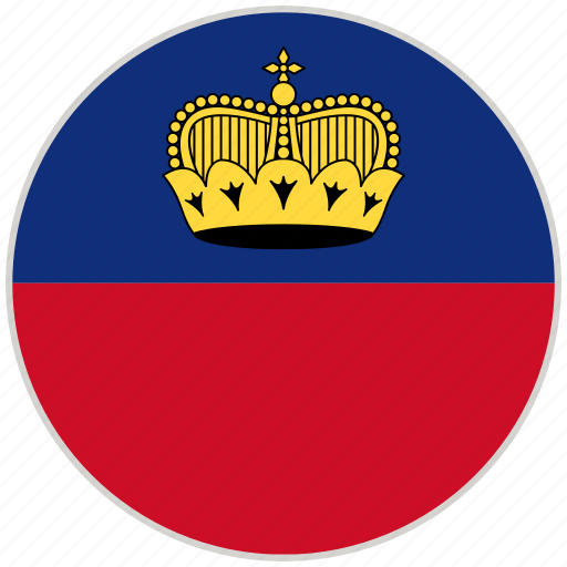 Circular, country, flag, liechtenstein, national, national flag, rounded icon - Download on Iconfinder