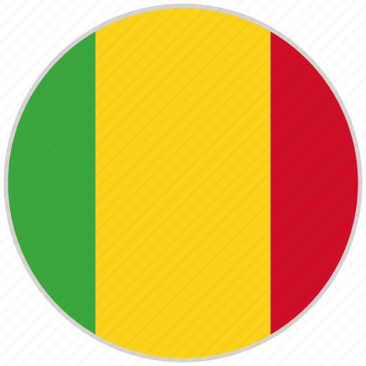 Circular, country, flag, mali, national, national flag, rounded icon - Download on Iconfinder