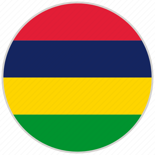 Circular, country, flag, mauritius, national, national flag, rounded icon - Download on Iconfinder