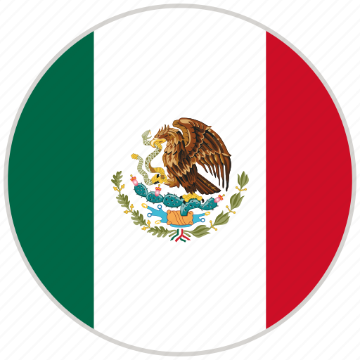 Circular, country, flag, mexico, national, national flag, rounded icon - Download on Iconfinder