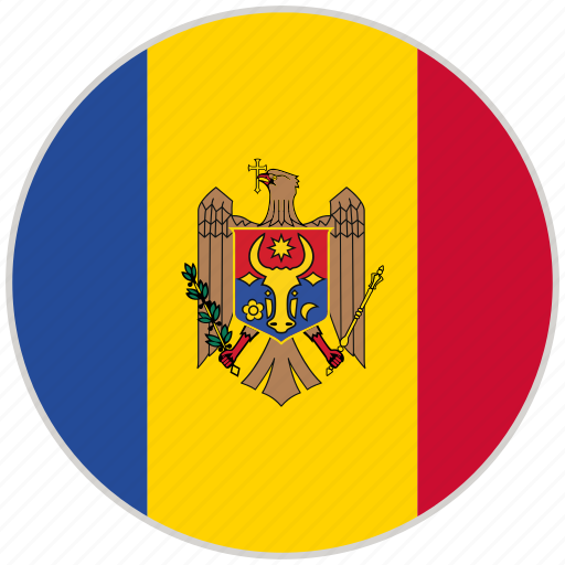 Circular, country, flag, moldova, national, national flag, rounded icon - Download on Iconfinder