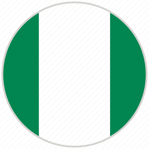 Circular, country, flag, national, national flag, nigeria, rounded icon - Download on Iconfinder