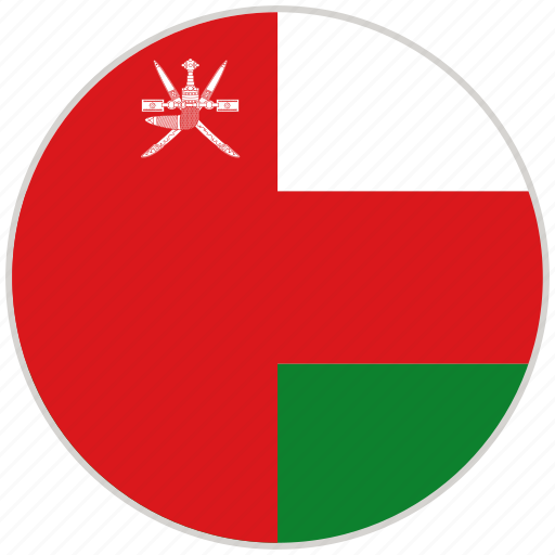 Circular, country, flag, national, national flag, oman, rounded icon - Download on Iconfinder