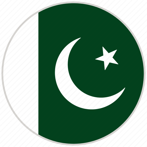 Circular, country, flag, national, national flag, pakistan, rounded icon - Download on Iconfinder