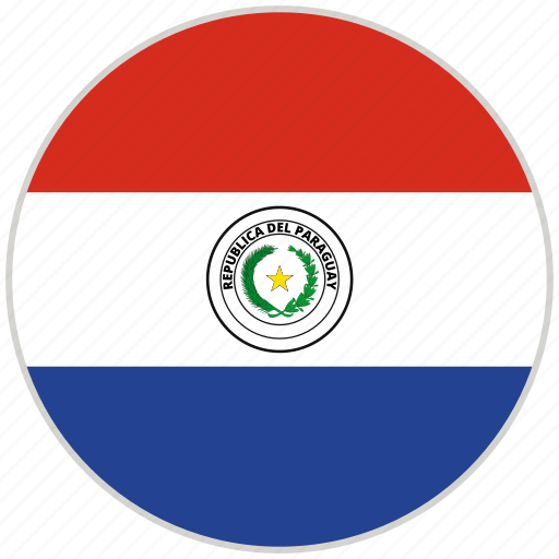 Circular, country, flag, national, national flag, paraguay, rounded icon - Download on Iconfinder