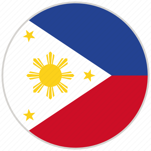 Circular, country, flag, national, national flag, philippines, rounded icon - Download on Iconfinder
