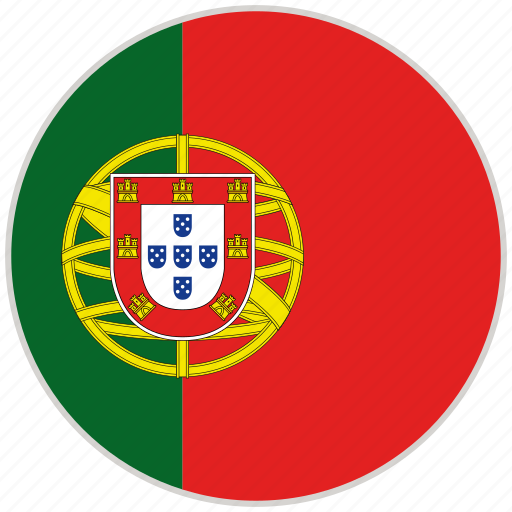 Circular, country, flag, national, national flag, portugal, rounded icon - Download on Iconfinder