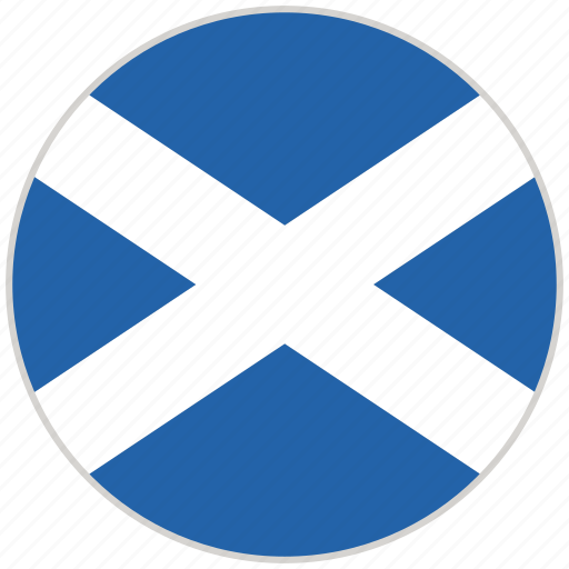 Circular, country, flag, national, national flag, rounded, scotland icon - Download on Iconfinder
