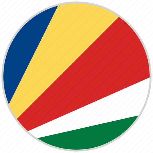 Circular, country, flag, national, national flag, rounded, seychelles icon - Download on Iconfinder