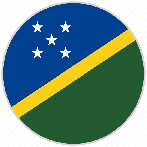 Circular, country, flag, national, national flag, rounded, solomon islands icon - Download on Iconfinder