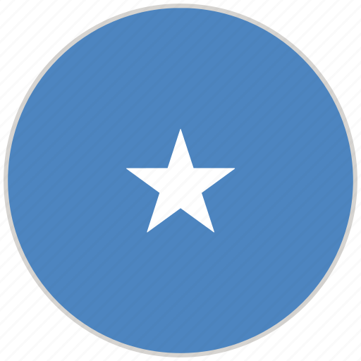 Circular, country, flag, national, national flag, rounded, somalia icon - Download on Iconfinder