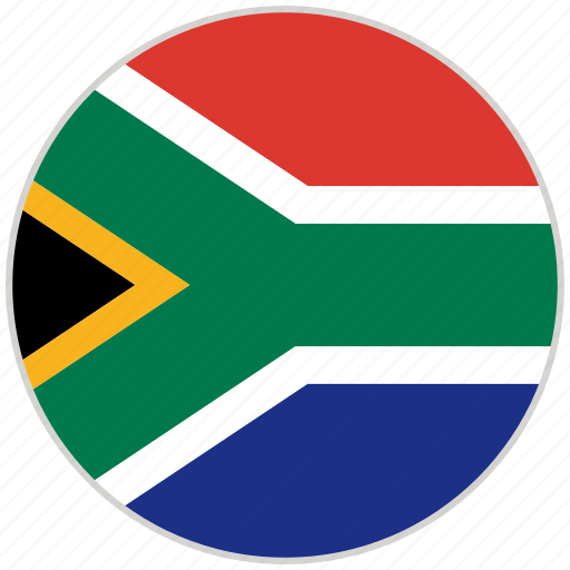 Circular, country, flag, national, national flag, rounded, south africa icon - Download on Iconfinder
