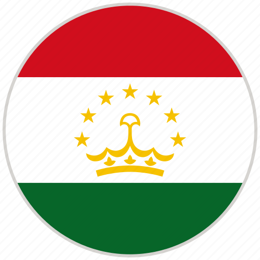 Circular, country, flag, national, national flag, rounded, tajikistan icon - Download on Iconfinder