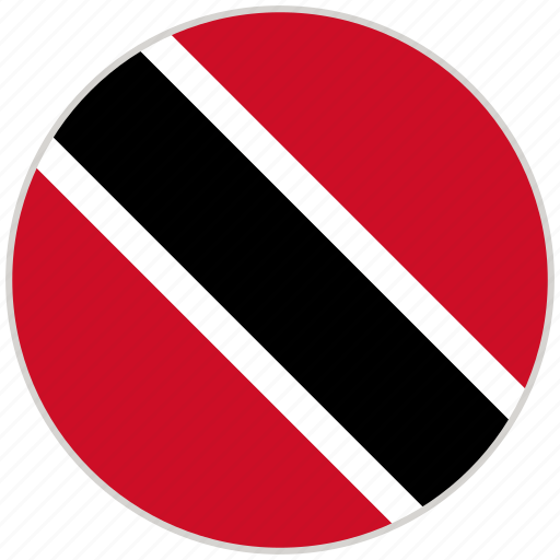 Circular, country, flag, national, national flag, rounded, trinidad and tobago icon - Download on Iconfinder