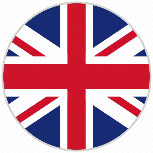 circular, country, flag, national, national flag, rounded, united kingdom icon
