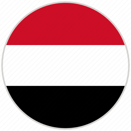 Circular, country, flag, national, national flag, rounded, yemen icon - Download on Iconfinder