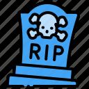 death, grave, halloween, rip