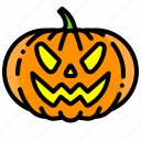 halloween, pumpkin, scary, vegetable