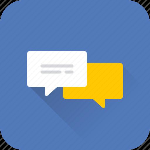 bubble, chat, comment, communication, message, seo, web icon