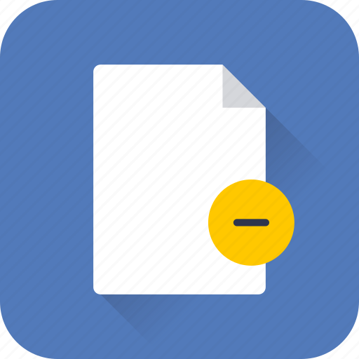 delete, document, extension, file, paper, seo, web icon