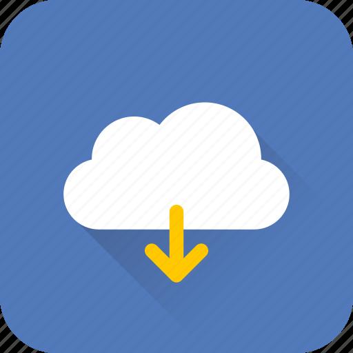 cloud, data, download, internet, network, seo, web icon