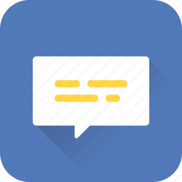 bubble, chat, feedback, message, seo, talk, web icon