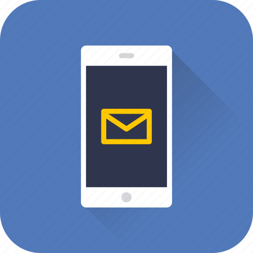 mail, message, mobile, phone, seo, technology, web icon