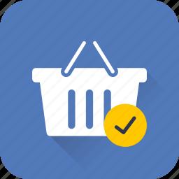 added, buy, cart, ecommerce, item, shopping, web icon