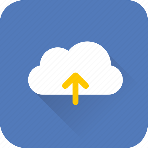 cloud, data, internet, seo, storage, upload, web icon