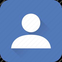 account, people, person, profile, seo, user, web icon