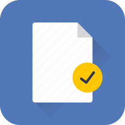 data, document, documents, extension, file, verified, web icon