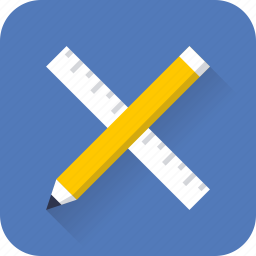 design, graphic, pencil, ruler, tool, web, wireframe icon