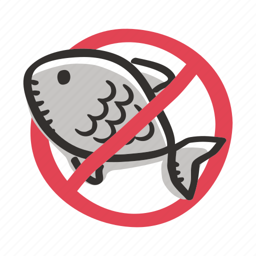 allergens, allergy, animal, fish, ingredient, meat, seafood icon