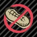 allergens, allergy, ingredient, nut, oil, peanut, protein icon