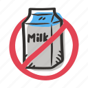 allergens, allergy, cow, food, ingredient, milk icon