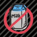 allergens, allergy, cow, food, ingredient, milk icon
