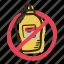 allergens, allergy, food, ingredient, mustard, sauce icon