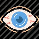 allergic, conjunctivitis, conjunctivitis icon, eye icon
