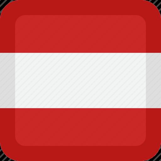 austria, country, flag, national icon