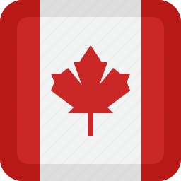 canada, country, flag, national icon