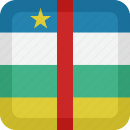 african, country, flag, national, republic icon