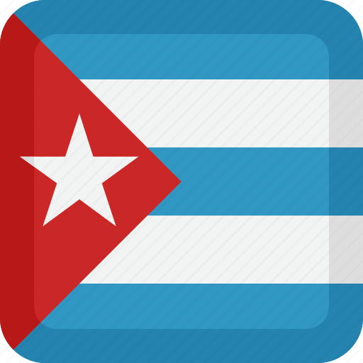 country, cuba, flag, national icon